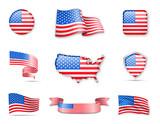 Flag Collection - USA Set