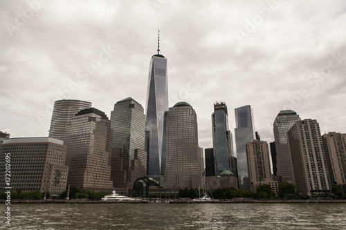 New York Skyline and Freedom Tower