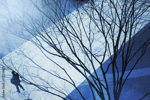 東京、冬の都市風景。 Poster