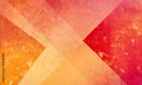 red orange and yellow background with layers and shapes, abstract backdrop design, colorful, warm colors