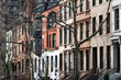 Row of historic buildings in New York City - 172277628