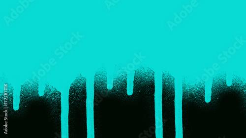 Foto op Plexiglas Groene koraal Abstract paint stains