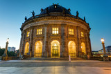 The Bode Museum at the Museum Island in Berlin at dawn
