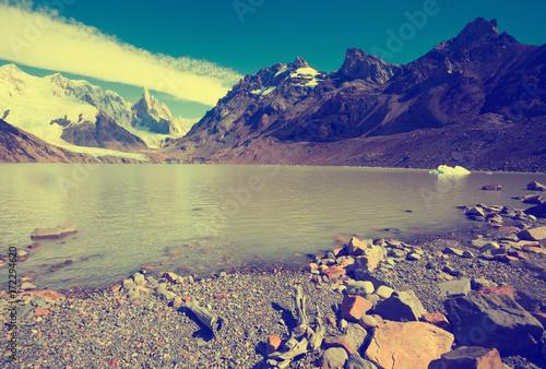 Fotobehang Zwavel geel Los Glaciares National Park