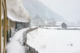 Old steam train - 172306622