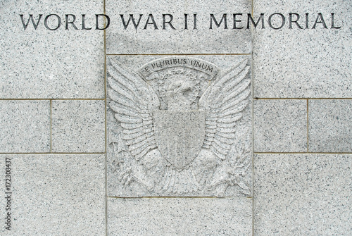 Poster World War II Memorial - Washington DC