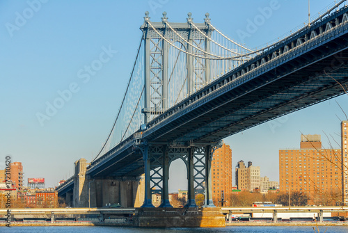 Manhattan Bridge - NYC Poster