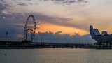 night to day Time-lapse of sunrise at Singapore - 172322001