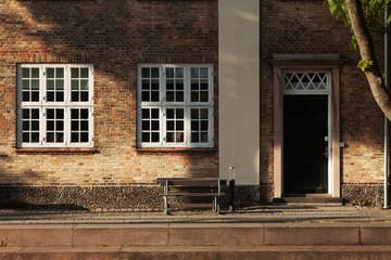 old house in Copenhagen exterior