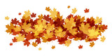 AUTUMN LEAVES BANNER - 172329262