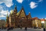 Wrocławska starówka w świetle popołudniowego słońca