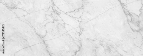 Plakat White marble texture background, abstract marble texture (natural patterns) for design.