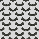 seamless bat pattern - 172350096