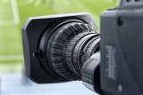 tv camera in the football - 172355427