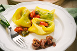 tortellini stuffed with anchovy cream
