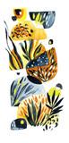Abstract watercolor minimal poster. - 172386896