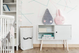 Kid's room with paper bag - 172391499