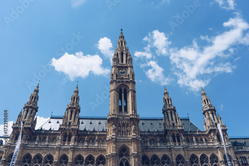 Foto op Canvas Wenen City Hall Austria,Vienna