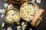 Cup of chamomile tea - 172419085