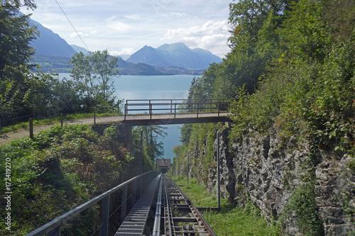 Bergbahn, Niederhorn, Schweiz