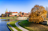 Wawel Castle and Vistula River in Fall, Cracow Poland - 172423660