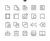 Edit text Pixel Perfect Well-crafted Vector Thin Line Icons 48x48 Ready for 24x24 Grid for Web Graphics and Apps with Editable Stroke. Simple Minimal Pictogram - 172475601