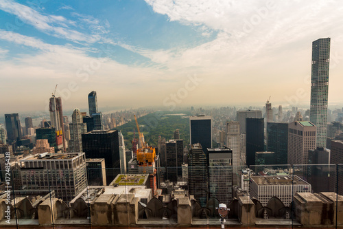 Foto op Aluminium New York Top of the Rock. Rockefeller Center