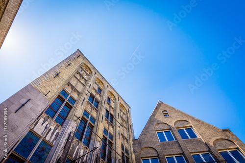 Foto op Aluminium Lavendel Brugge - Belgium