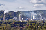 Rouen. Zone industrielle.Pollution - 172492043