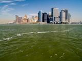 Lower Manhattan Island from New York Bay