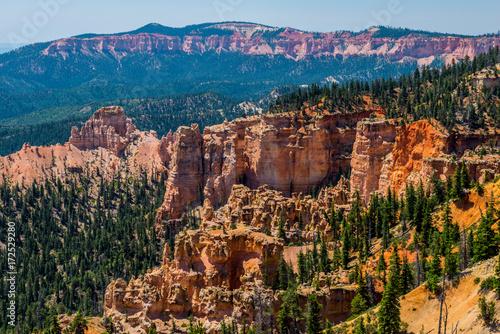 Fotobehang Chocoladebruin Bryce Canyon, Utah