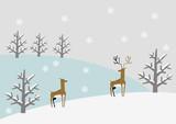 冬の素材 パーツ イメージ