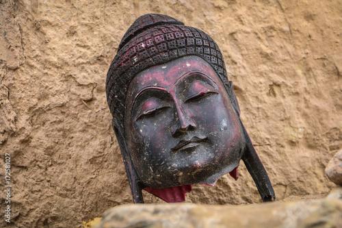 Foto op Canvas Boeddha Buddha Statue, Alchi, Leh Ladakh, India