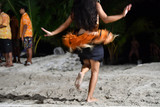 Polynesian dancer hula move effect - 172596287