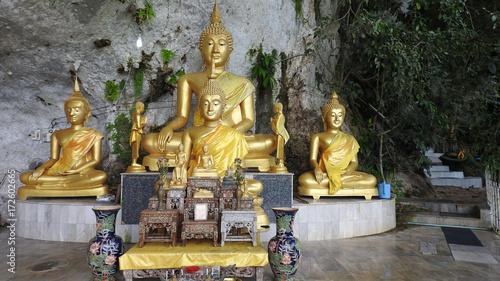 Foto op Canvas Boeddha Tempel in Thailand