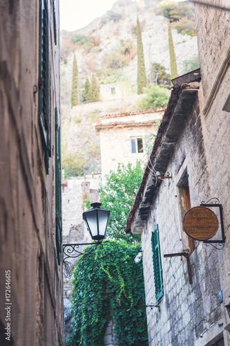 Keuken foto achterwand Cappuccino Ruelle à Kotor