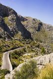 beautiful coastal road and landscape of Mallorca, Spain - 172664627