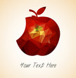 Eat Apple Vector - 172678490