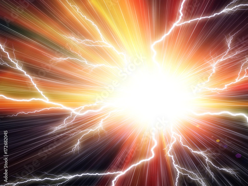 Electric flash background - 172682045