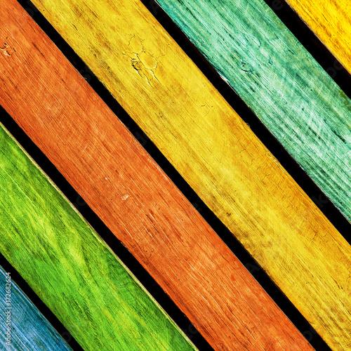 vintage colorful wood - 172682624