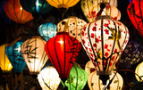 Lantern lighting on full moon night in Hoi An, Vietnam - 172690403