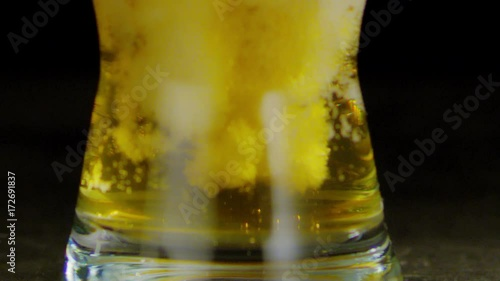 Cold beer Slowmotion
