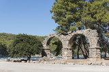 The Remains Of The Aqueduct at Phaselis Antique City, Antalya, Turkey - 172695094