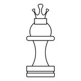 Chess game piece icon vector illustration graphic design