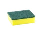 Cleaning sponge isolated on white background - 172718631