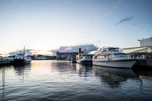 Oslo Harbor Poster