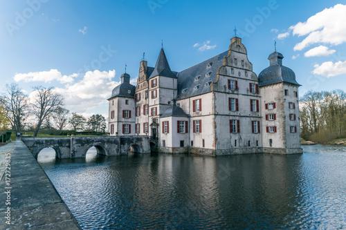 Foto op Canvas Brugge Wasserschloß in Dortmund