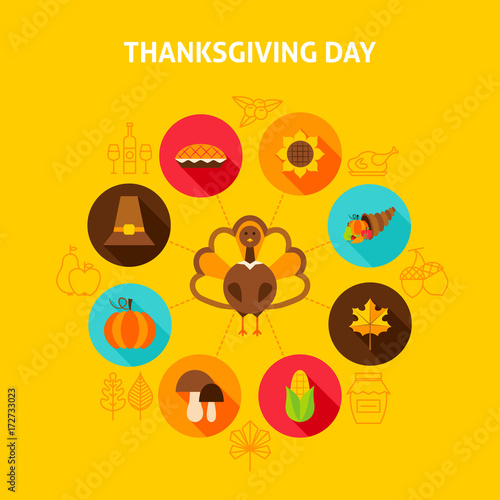 Thanksgiving Day Concept - 172733023