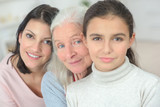 three generations of women grandmother mother and daughter - 172755230
