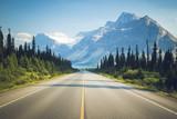 Droga w stronę jeziora Bow